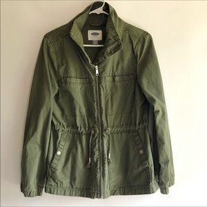 Old Navy Army Green Draw String Jacket XXL